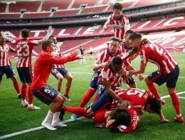 Atletico Madrid berhasil menjadi juara LaLiga Spanyol 2020-21 (Foto: Twitter Atletico Madrid).