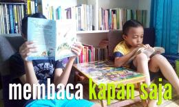 Membaca buku menawarkan kegembiraan tersendiri. (Foto: belalangcerewet.com)