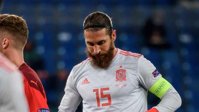 Sergio Ramos, Kapten Real Madrid dan timnas Spanyol, tidak diikutsertakan dalam skuad timnas Spanyol untuk Piala Eropa 2020. Dengan ini, tak satu pun pemain Real Madrid asal Spanyol yang membela tim Matador pada Piala Eropa mendatang. Sumber foto: Getty Images via Goal.com