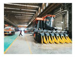 Mesin pemetik kapas 4mzd-6 setara 1.200 pekerja manual (dokpri)