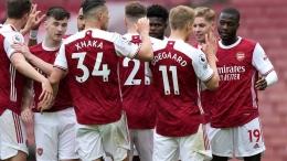 Skuad Arsenal asuhan Mikel Arteta finis di posisi ke-8 Premier League (Foto Arsenal.com)