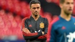 Luis Enrique, pelatih Timnas Spanyol (tribunnews.com)