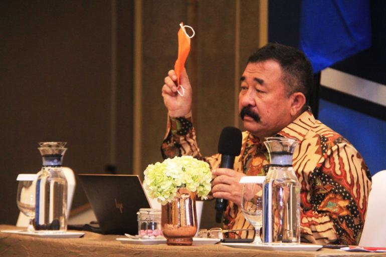 Mayjen TNI (purn) Komaruddin Simanjuntak. Foto dok pribadi