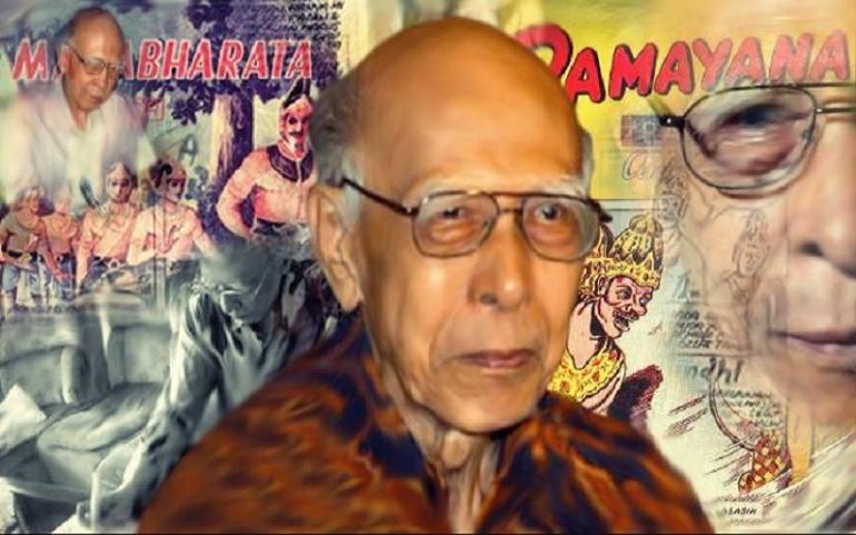 R.A Kosasih, bapak komik Indonesia. Foto: Micha Ranier Pali