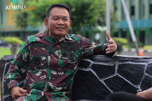 Pangkostrad Mayjen Dudung Abdurrachman (kompas.com).