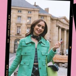 Emily in Paris Fashion, Source: Instagram @emilyinparis