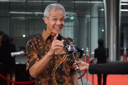 Ganjar Pranowo, Gubernur Jawa Tengah. Gambar dari kompas.com/Kristian Erdianto