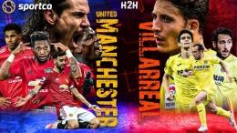 Dini hari nanti, Machester United akan menghadapi Villarreal di final Europa League 2020/21 yang dimainkan di Kota Gdansk, Polandia. Siapa juara?/Foto: www.sportco.io