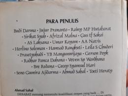 Rekomendasi Buku Karya Penulis Indonesia dalam buku cerpen pilihan Kompas (Dok. Pribadi)