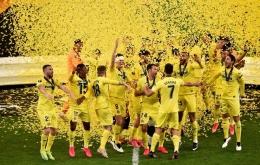 Villareal juara Liga Eropa 2020-2021. (Foto: Instagram/villarealcf)