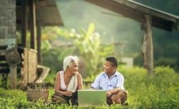 Belajar bahasa selagi muda menjadi modal di masa depan (ilustrasi Pixabay)