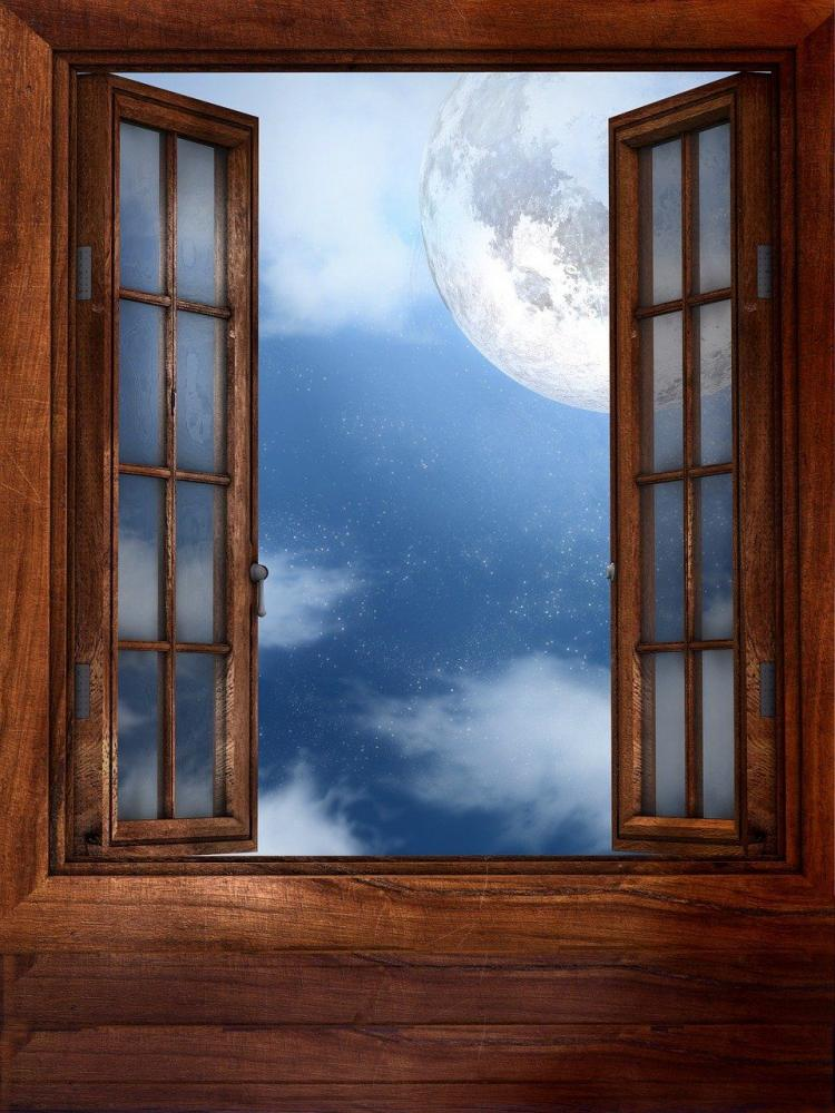 ilustrasi gambar untuk Puisi: Menghitung Bulan dari pixabay.com