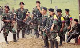 Pasukan pemberontak FARC. (Foto: revolutionarycommunist.org)