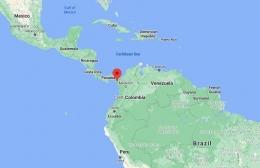 Lokasi Darien Gap dari Google Maps.