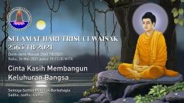 Ucapan Waisak 2565 TB/2021 (sumber: KBBV Makassar)