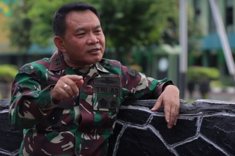 Jenderal Dudung Abdurahman Pangkostrad - Sumber: Kompas.com