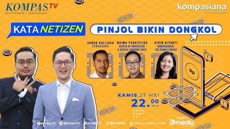 Kata Netizen: Pinjol Bikin Dongkol! (Dok. KompasTV)