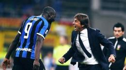 Lukaku dan Antonio Conte | Instagram.com/@Inter