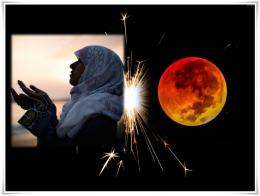Selama gerhana Bulan kita dianjurkan berdoa, bertakbir, shalat Khusyuf, dan bersedekah (dok.Gulf Business, vnetexplorer.com/ed.WS)