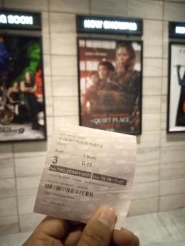 Tiket Bioskop/Dokumentasi Pribadi
