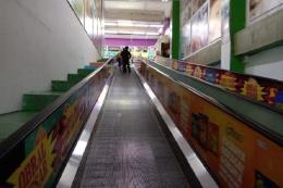 Salah satu lorong Giant Mall Olympic Garden Malang sebelum ditutup. - Dokumen Pribadi