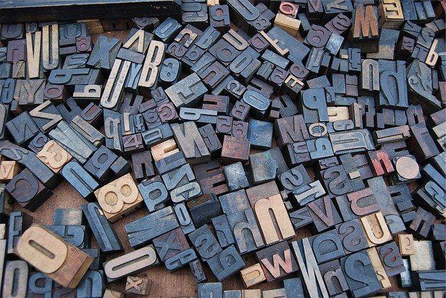 Ilustrasi himpunan aksara (sumber gambar: pixabay.com)