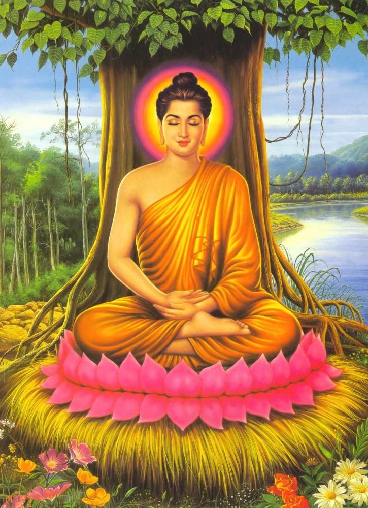 Ilustrasi Buddha Gautama. Sumber: dharma.wikia.com