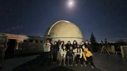 Setelah selesai Gerhana Bulan (Dokumentasi Pribadi)