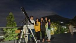 Bersama Siswa Klub Astronomi KSN (Dokumentasi Pribadi)
