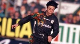 Alvaro Recoba, legenda Uruguay saat berseragam Venezia. (via calcissimo.com)