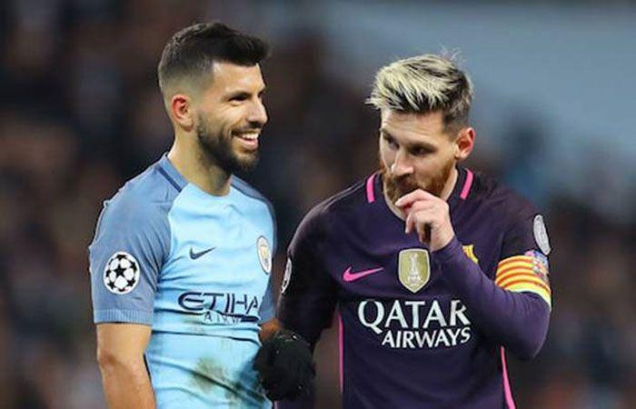 Lionel Messi dan Sergio Aguero pasangan yang pas. foto UEFA
