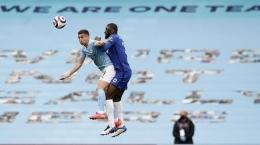 Manchester City akan menghadapi Chelsea di final Liga Champions. (AP/Martin Rickett). Sumber: CNN Indonesia