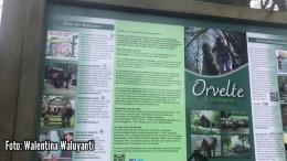 Foto: Informasi tentang desa Orvelte, bisa dibaca pengunjung saat memasuki desa ini | Dokumentasi pribadi