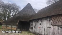 Foto: Salah satu contoh rumah petani pada abad lampau di desa Orvelte, Belanda | Dokumentasi pribadi