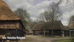 Foto: Suasana di desa museum, desa Orvelte di Belanda | Dokumentasi pribadi