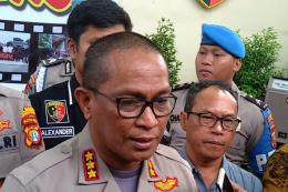Kabid Humas Polda Metro Jaya Kombes Pol Yusri Yunus di Polres Bandara Soekarno-Hatta, Kamis (30/1/2020)   https://megapolitan.kompas.com/