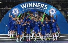 Chelsea Juara Liga Champions 2021 (foto: Twitter Chelsea).