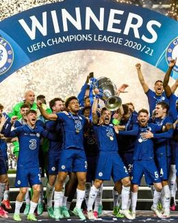 Chelsea sukses menjadi juara UCL 2021.Foto :laman Facebook mundo deportivo