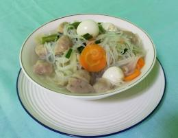 Sup Bihun Aneka Sayuran   Foto: Siti Nazarotin