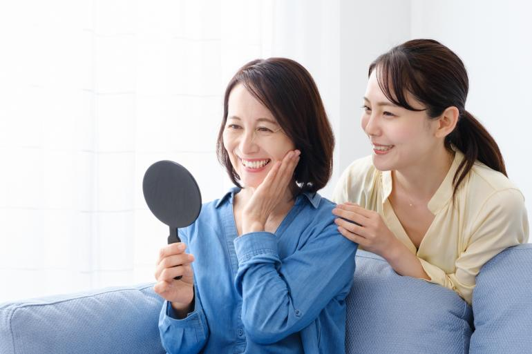 Ilustrasi skincare untuk usia 50 ke atas (sumber iStockphoto)