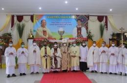 Foto.komsos.ka/foto bersama imam baru
