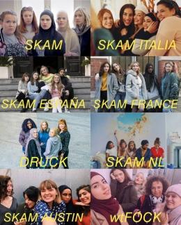 SKAM (2015) dan sederet remakesnya-https://www.newstatesman.com/culture/tv-radio/2017/04/skam-how-cult-teen-drama-has-fans-invading-sets-stalking-characters