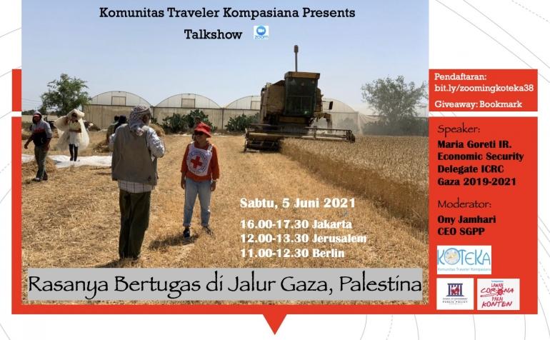 Sabtu ini ke ke Gaza (Dok-Koteka)