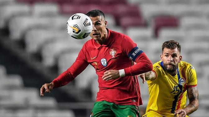 Cristiano Ronaldo menjadi andalan Portugal di Euro 2020 (bola.com)