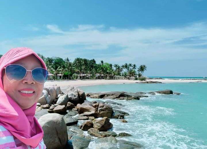 Di pulau Bangka (dok.pri)