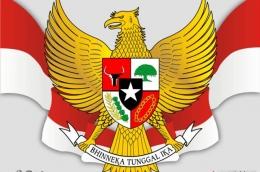 Garuda Pancasila Lambang Negara Indonesia.Sumber gambar: Kumparan.com