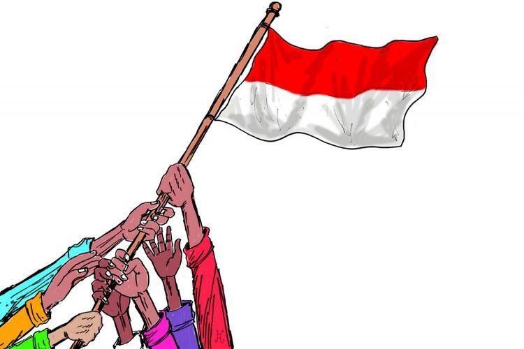 Mewujudkan Indonesia Maju dengan Benar-benar Mengimplementasikan Nilai-nilai Luhur Pancasila - Sumber : nasional.kompas.com