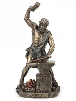 Patung dewa Hephaestus (sumber: amazon.com)