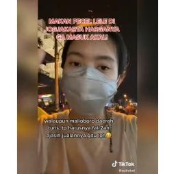 Wisatawan yang keberatan harga pecel tak masuk akal di Malioboro   sumber: Instagram/voilajogja
