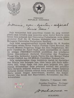 Sebuah ilustrasi (repro dari buku Indonesia, Ajam Djantan Sedjarah Dunia Baru, Dokumentasi Mawan Sidarta)